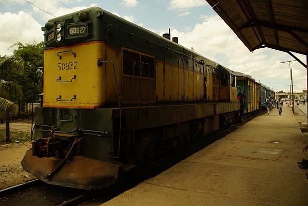 Trains in Cuba
