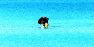 shadow in the water Cuba