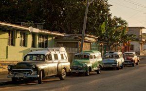Shared cabs in Cienfuegos (Cuba 2020)