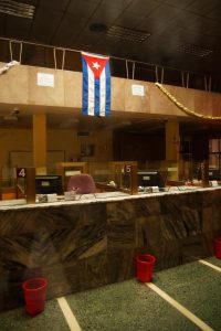 State-owned bank branch Cuba